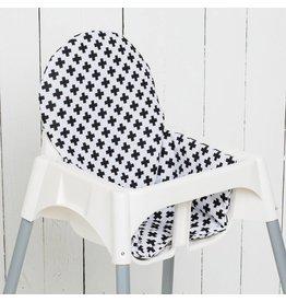 Coussin Dappui Et Housse Pour Chaise Haute De Ikea Puckdaddy
