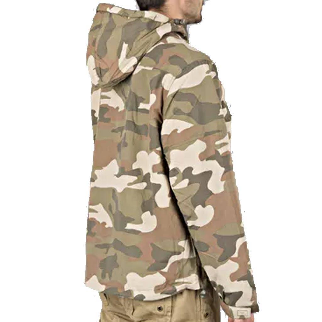Windbreaker Brandit Light Woodland Camouflage Jas
