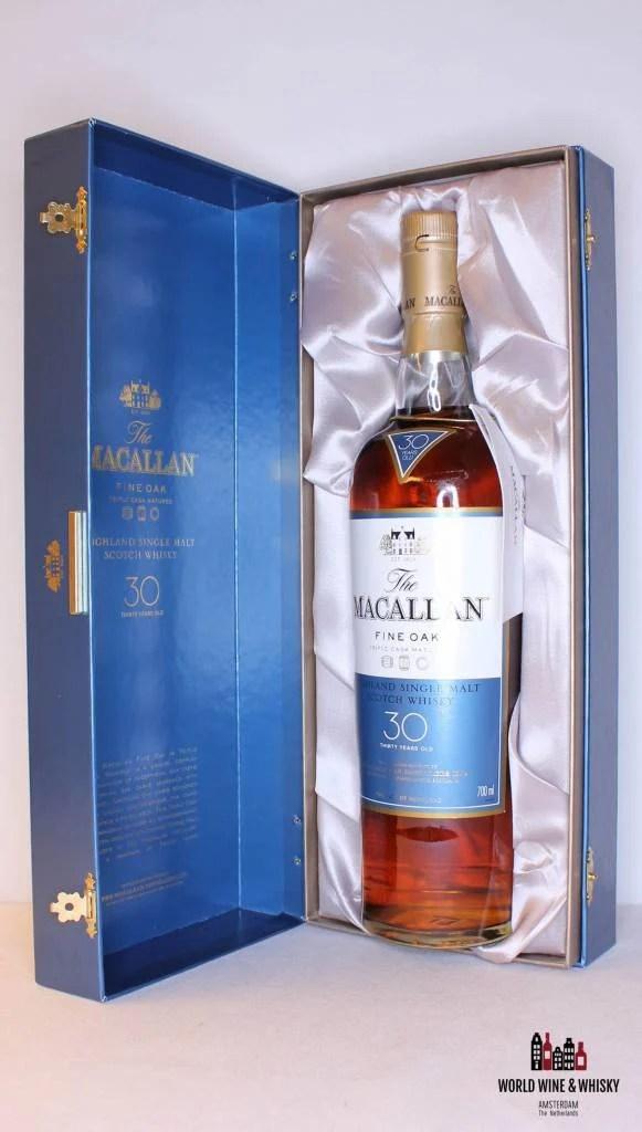 Macallan 30 Years Old Fine Oak - Triple Cask Matured 43% - World Wine & Whisky