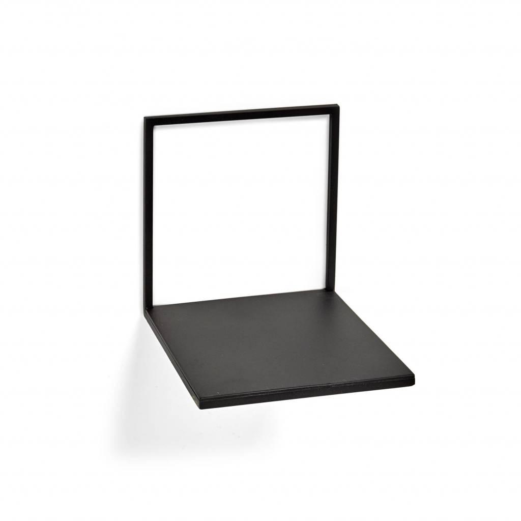 Wandplank Zwart Metaal.Diepe Wandplank Duraline Fotoplank Wit Mdf Duraline Praxis Stuks