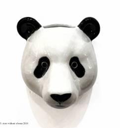 wall vase panda [ 1024 x 1024 Pixel ]
