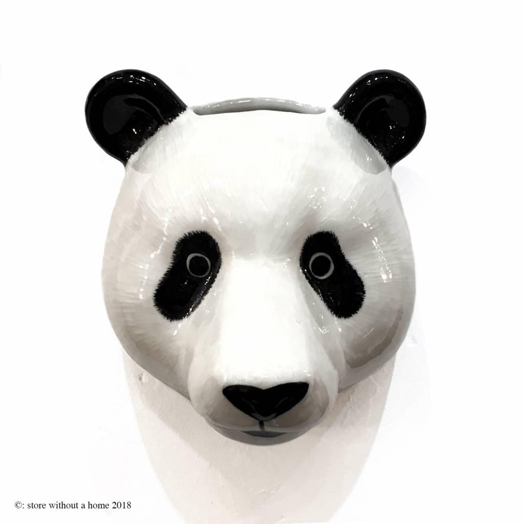 hight resolution of wall vase panda