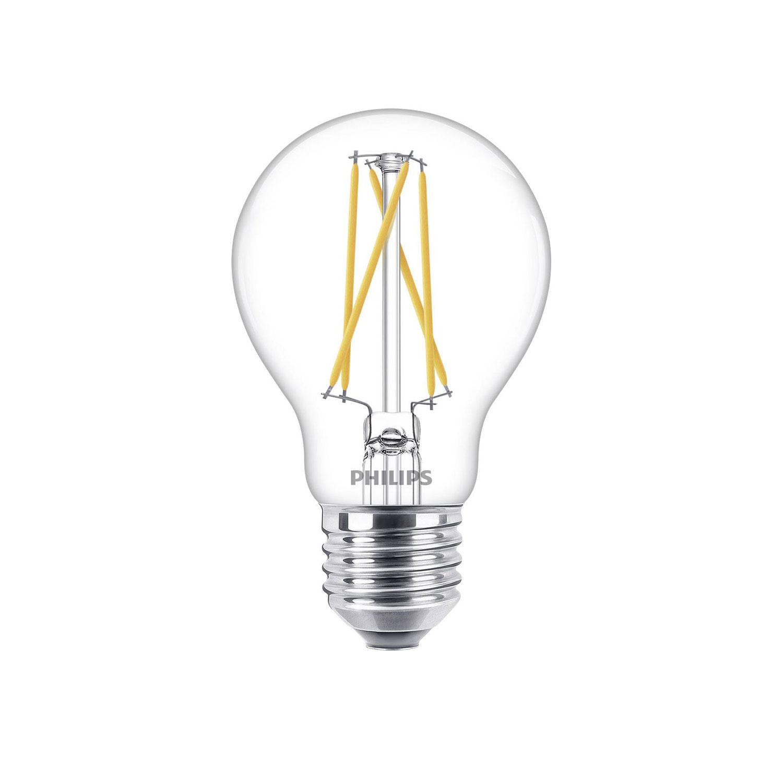 Led E27 Lamp 60 9 Watt Philips Warmglow Filament Dim