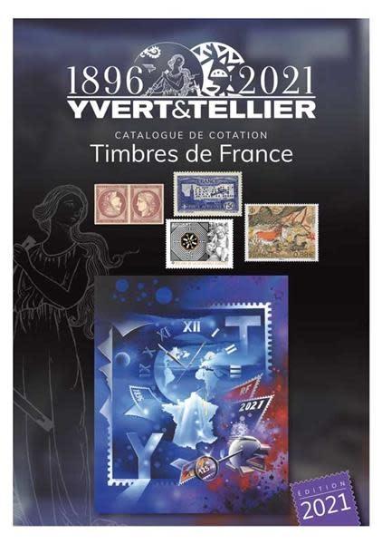 Yvert Et Tellier Timbres De France : yvert, tellier, timbres, france, Yvert, Timbres, France, Collectura