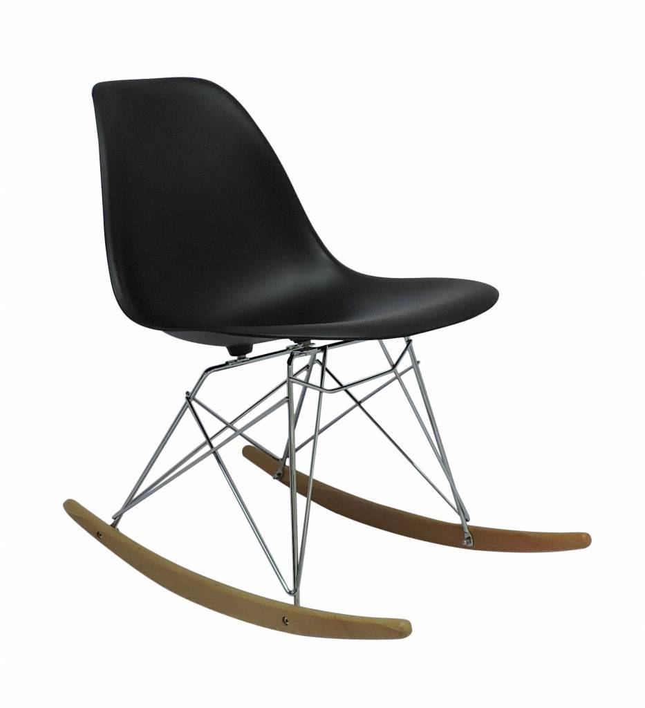 Cheap Rocking Chairs Rsr Eames Design Rocking Chair Grey