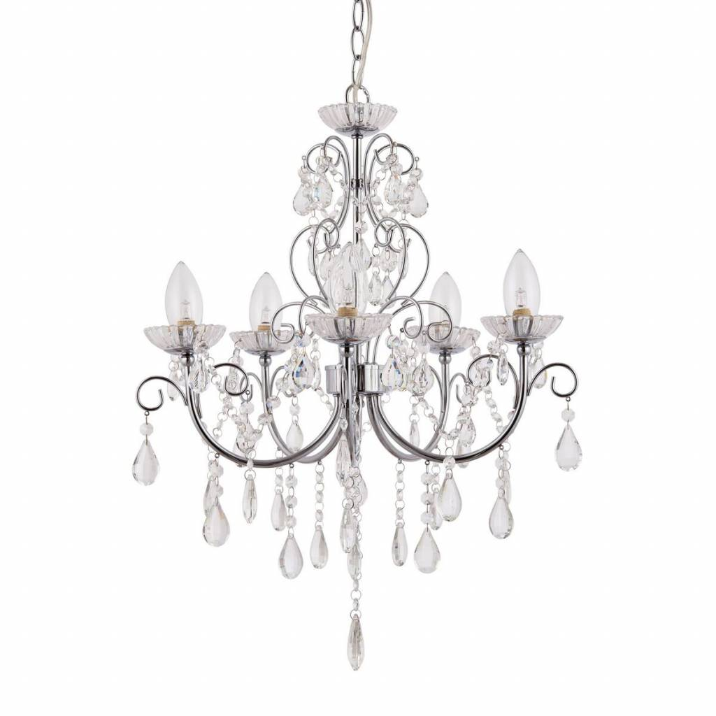 Bathroom Chandelier Lighting Tabby 5 Light Bathroom Chandelier Ip44