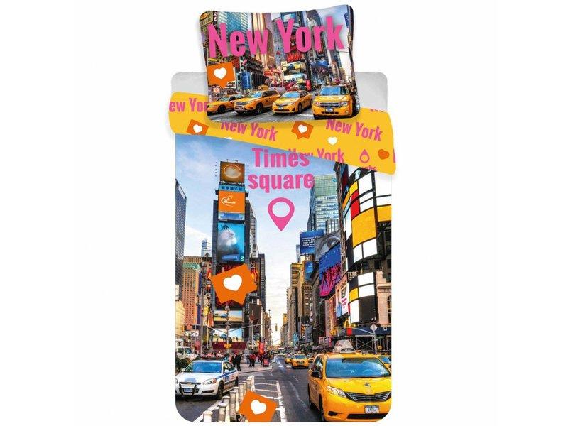 New York Housse De Couette Times Square 140x200cm Simbashop Nl