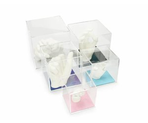 lucky hands lucky hands cube en verre acrylique