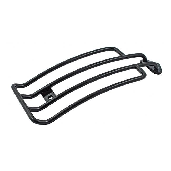 MCS seat solo luggage rack 85-03 XL Sportster black or