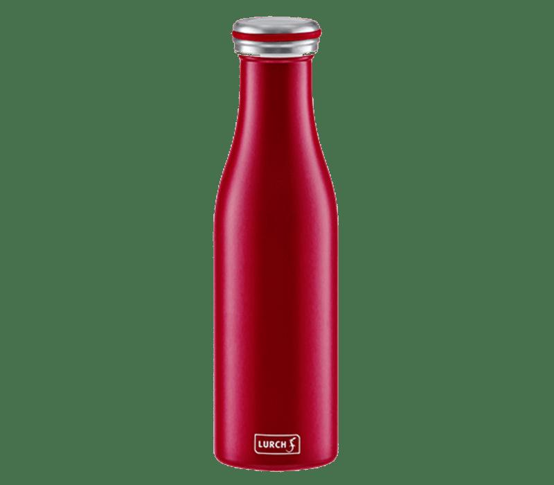 lurch bouteille isotherme a double paroi bordeaux 500 ml lurch