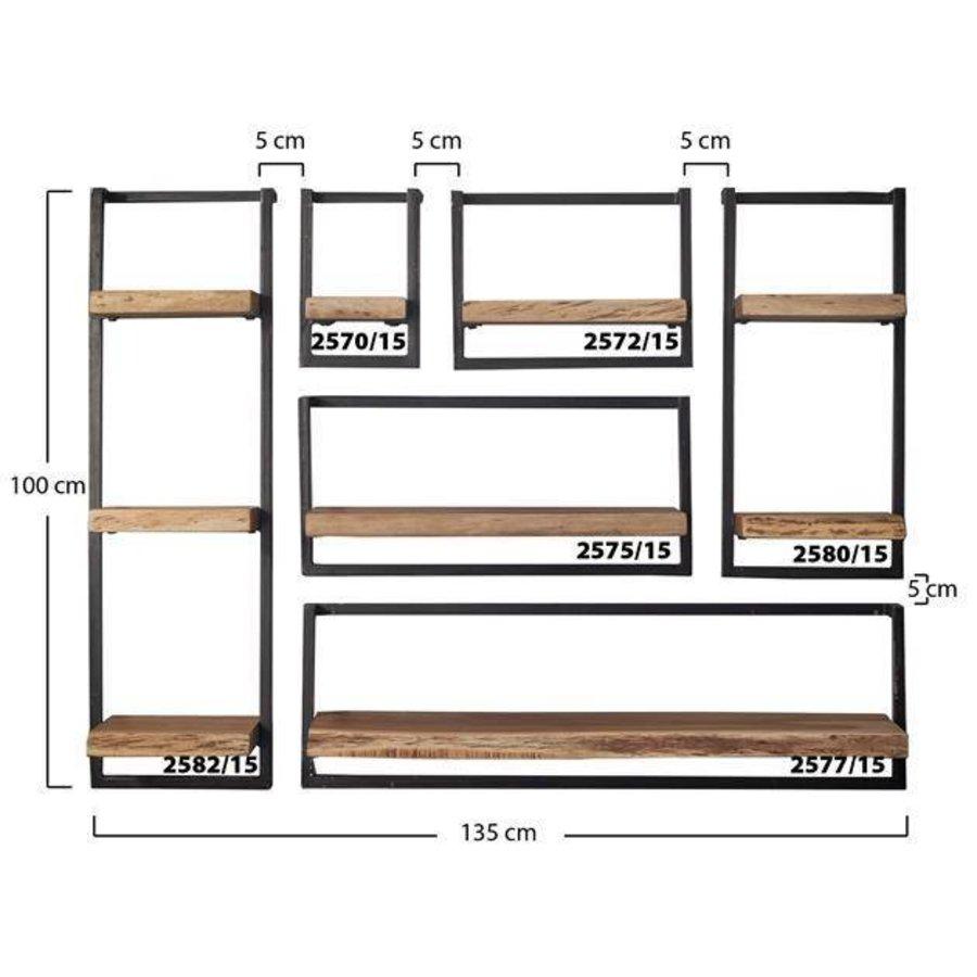 etagere murale jax 20cm acacia