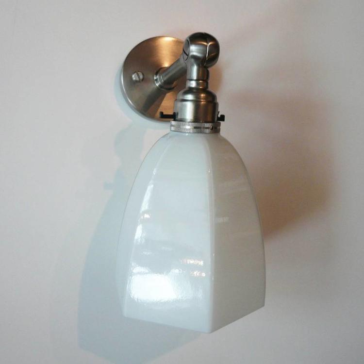 lamp in nickel holder