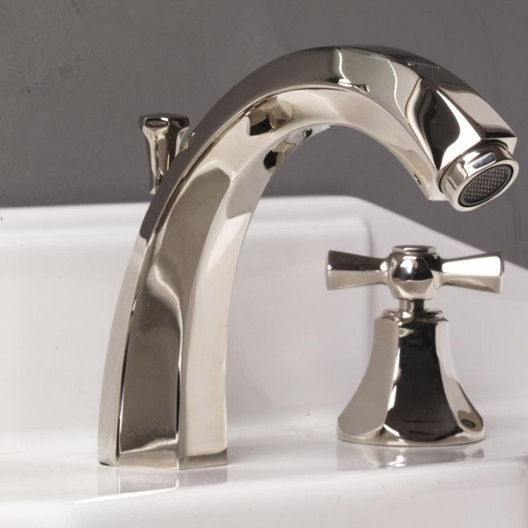 thee hole basin mixer art deco
