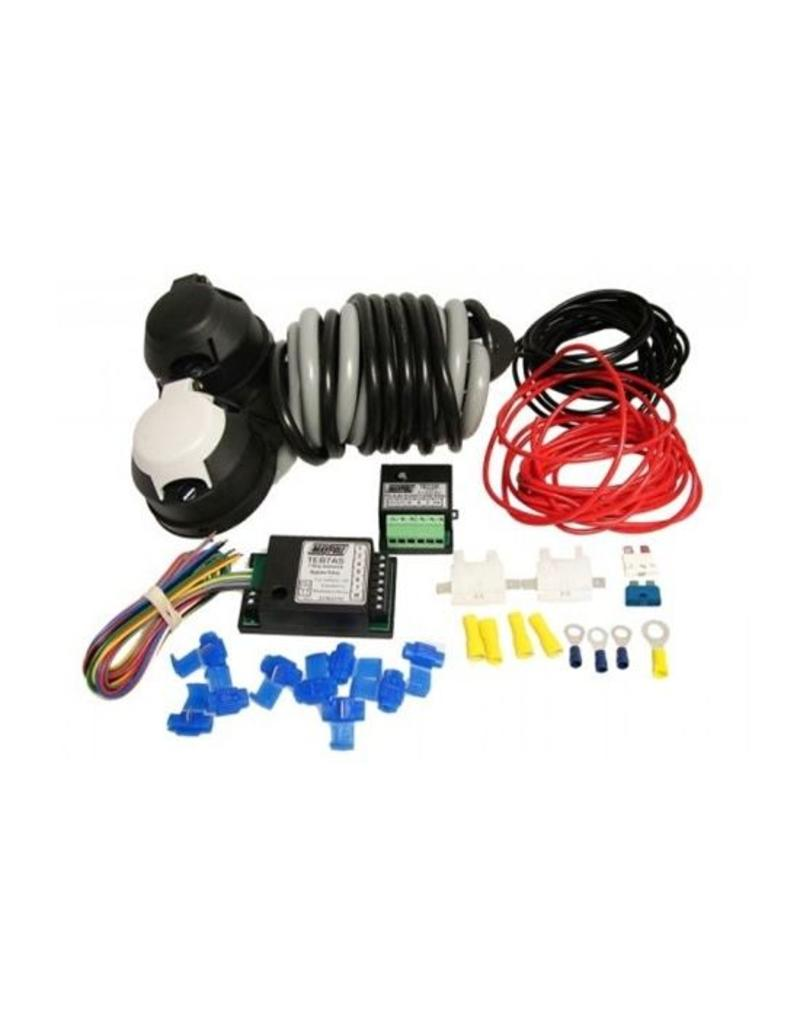 hight resolution of 12n 12s wiring kit 2m c w 7 way bypass 30a combi relay fieldfare trailer centre
