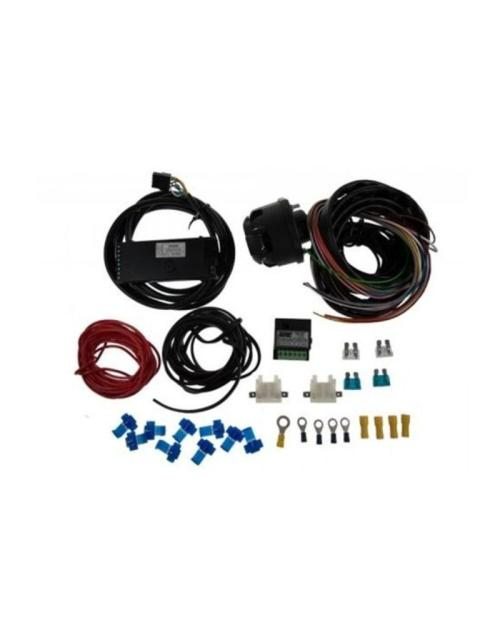 small resolution of 13 pin 2m wiring kit 7 way zr2500 and 30a combination relay fieldfare trailer centre
