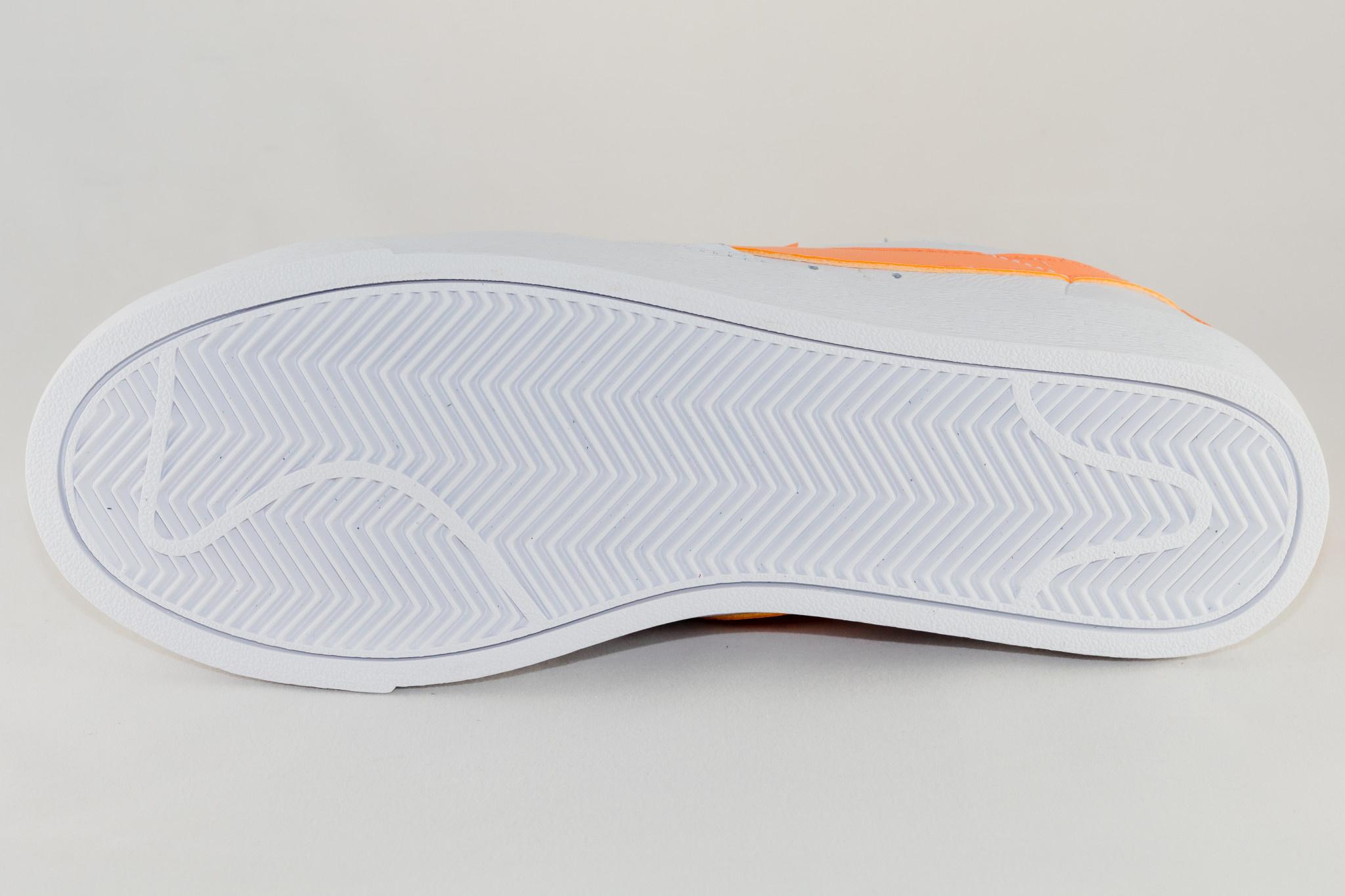 Nike Blazer Low White Fuel Orange White