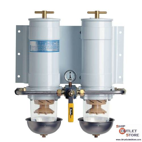 small resolution of dual fuel filter with water separator racor turbine 75 1000ma30