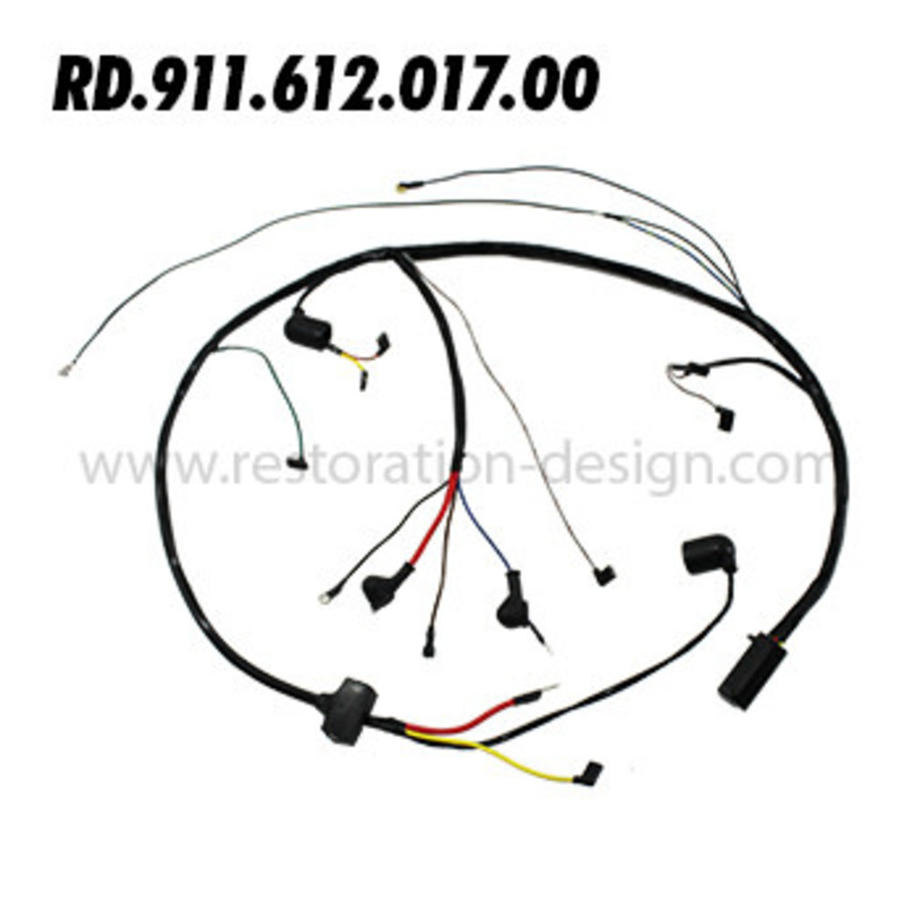 RD-911-612-017-00 Engine Harness (Motorola Alternator