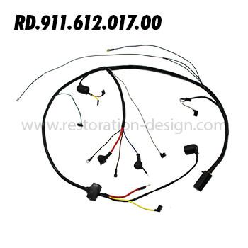 RD-911-612-017-00 Engine Harness (Motorola Alternator