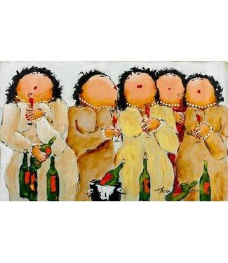 Dikke Dames schilderijen  De Woonhoek