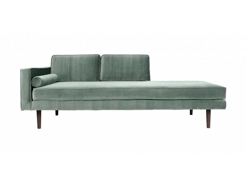 chaise lounge sofa green