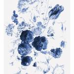 Kek Amsterdam Royal Blue I Floral Wallpaper Living And Co