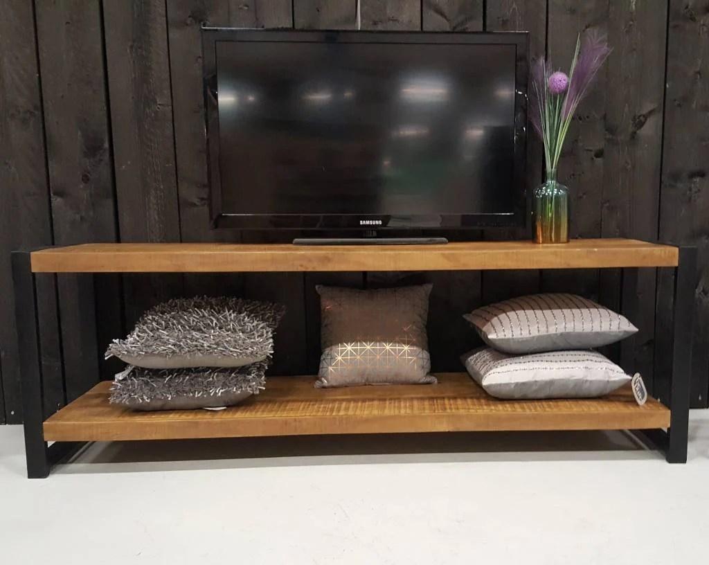 TV meubel Industrial Mango  180 cm  Gratis verzending