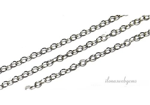 sterling silver chains links