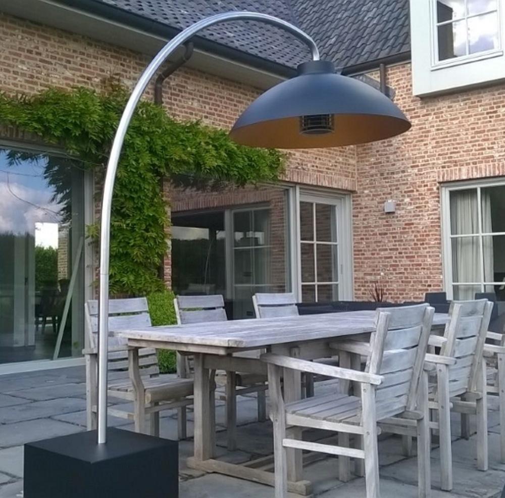 heatsail heatsail dome design electric infrared patio heater