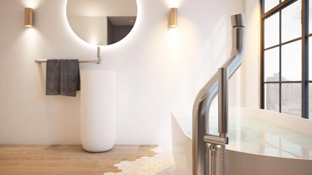 Jee O Flow Bath Freestanding Design Bath Vinuovo