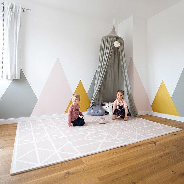 toddlekind toddlekind tapis de jeu nordic vintage nude