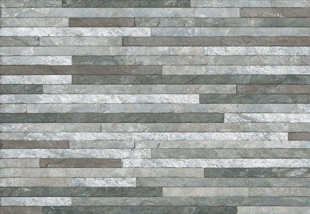 luxury tiles grey mix linear splitface wall mosaic tile