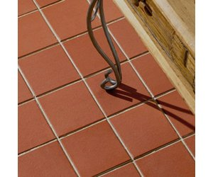 earth stone 15x15cm rustic red quarry tiles