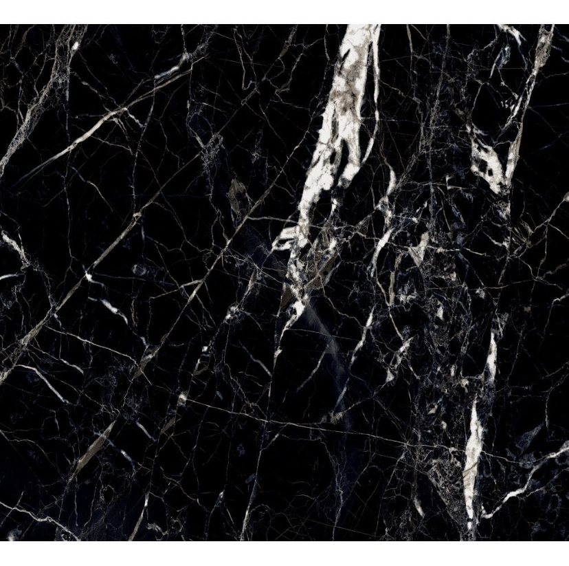 white gold onyx black marble stone effect wall and floor tile