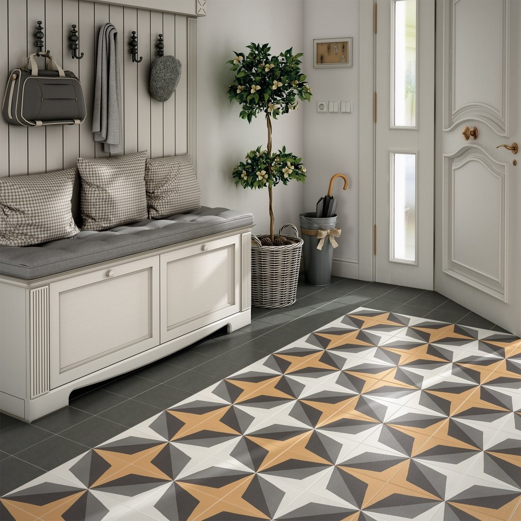 luxury tiles geometric star porcelain pattern tile