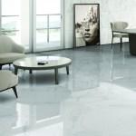Gentle Calacatta Marble Effect 450x450mm Floor Tile Luxury Tiles