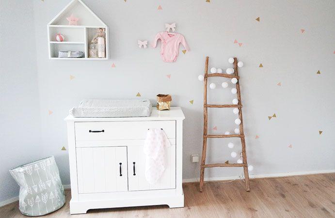 Babykamer met een gouden randje  Wonen voor jou