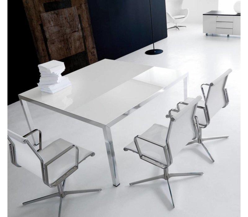 ivm fly table de reunion en verre ou bois