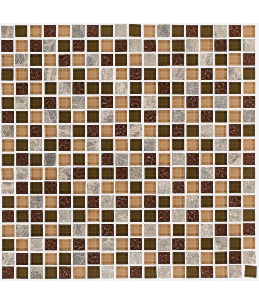 Fliesen Mosaik Zum Kleben Wootile 4er Set Mosaik 3d