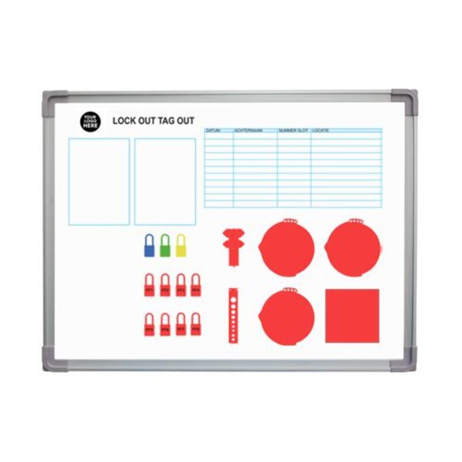 medium resolution of custom made lockout tagout shadow board
