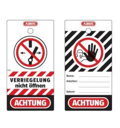 polypropylen safety tags t150 [ 900 x 900 Pixel ]