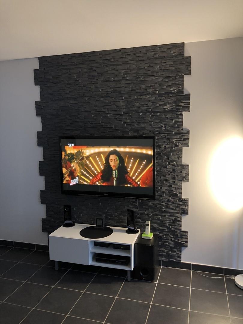 Fixer Tv Au Mur : fixer, Backwall, Nouvelle, Tendance, Logement, Style4Walls, Style4walls