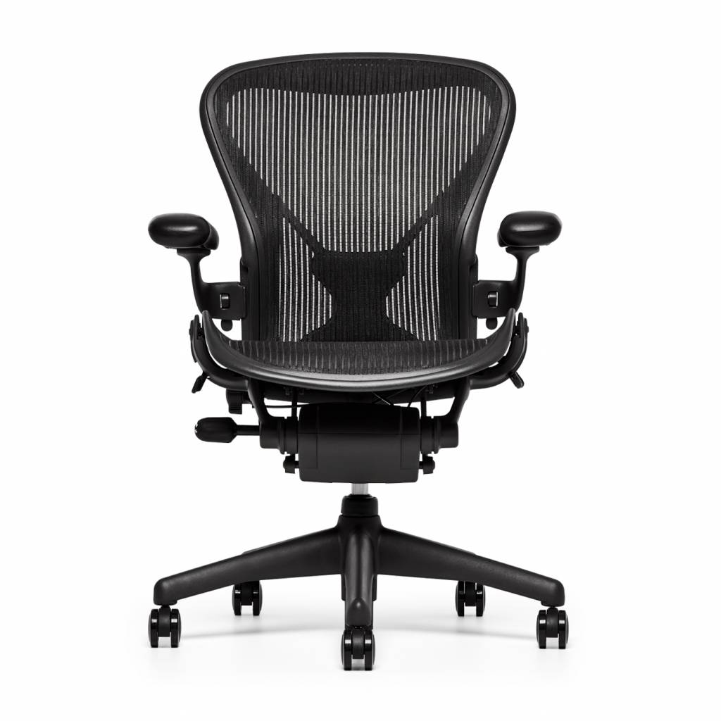 Aaron Chair Refurbished Herman Miller Aeron Chair Graphite