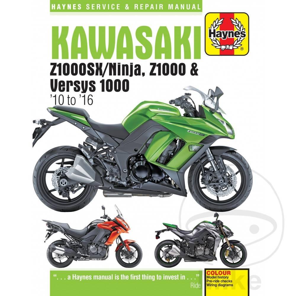 medium resolution of repair manual kawasaki zx1000sx ninja z1000 versys 1000 201 2003 z1000 wiring diagram repair manual kawasaki