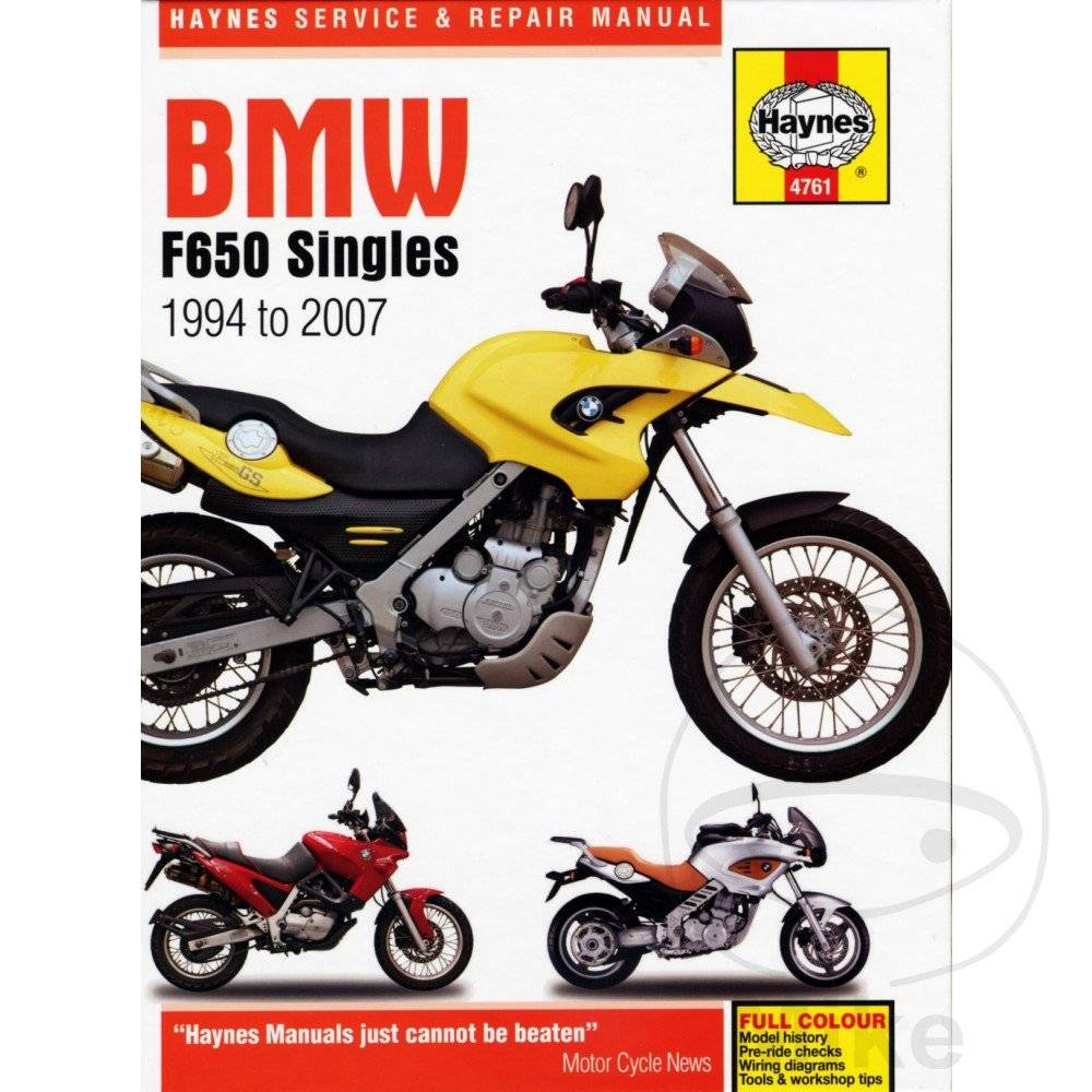medium resolution of repair manual bmw f650