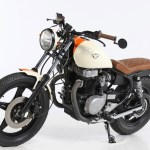 Sold Honda Cm400t Brat Caferacerwebshop Com