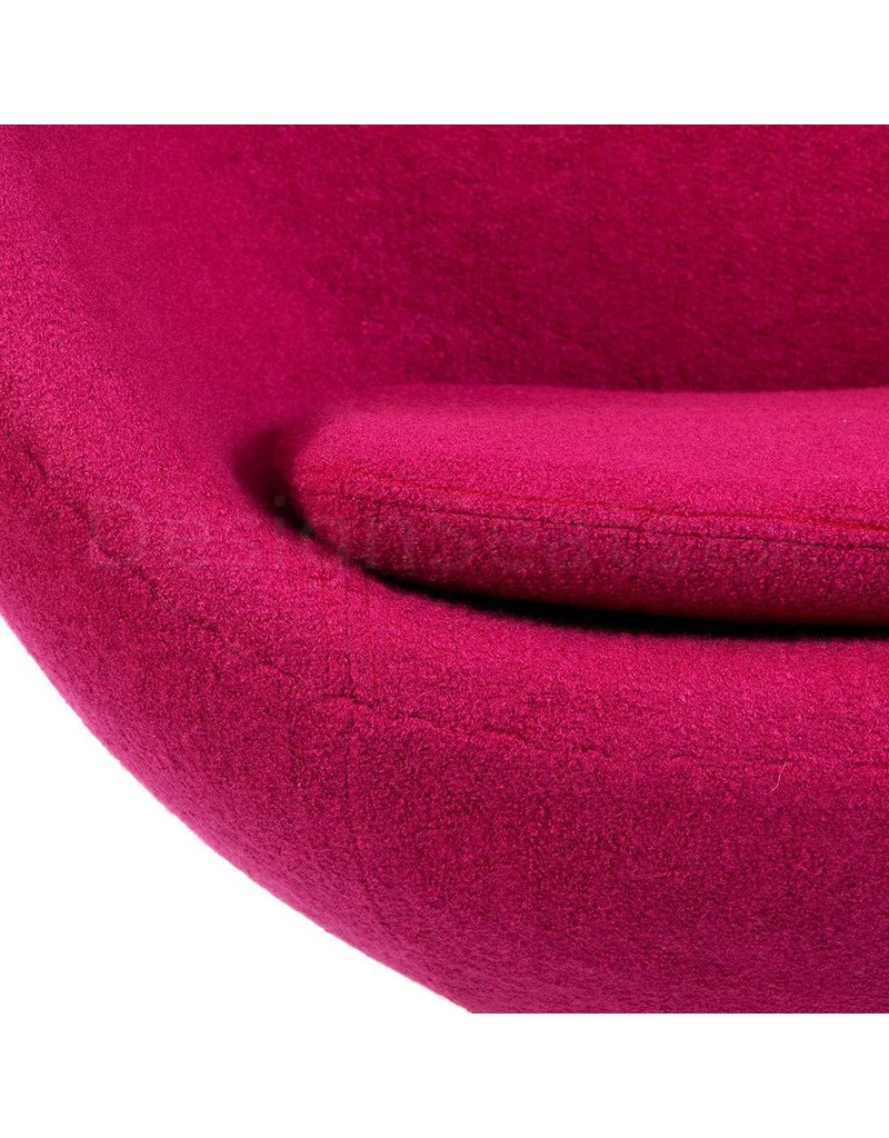 Pink Egg Chair Egg Chair Pink Wool