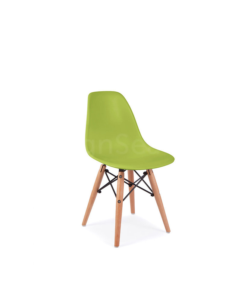 Lime Green Chairs Dsw Kids Eames Chair Limegreen