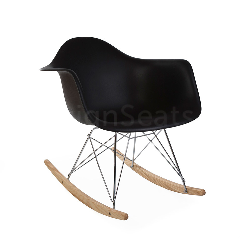 Kids Rocking Chairs Rar Eames Kids Rocking Chair Black