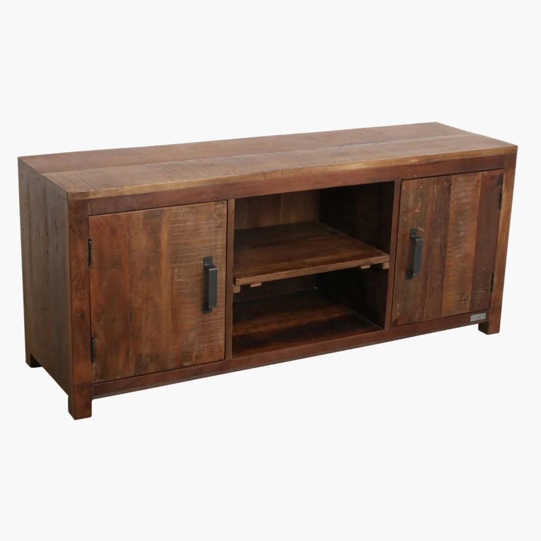 petite lily interiors meuble tv bois naturel 140x40xh60cm